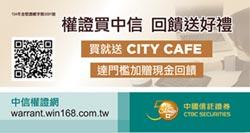 台灣權王-中國信託證券 長天期低行使 實質槓桿較低