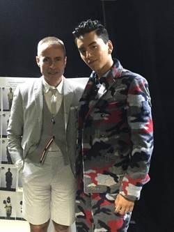 王大陸攻進時尚圈 迷彩西裝穿出潮流味