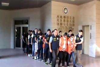 移民署破獲北台最大非法仲介外勞集團 逮31人