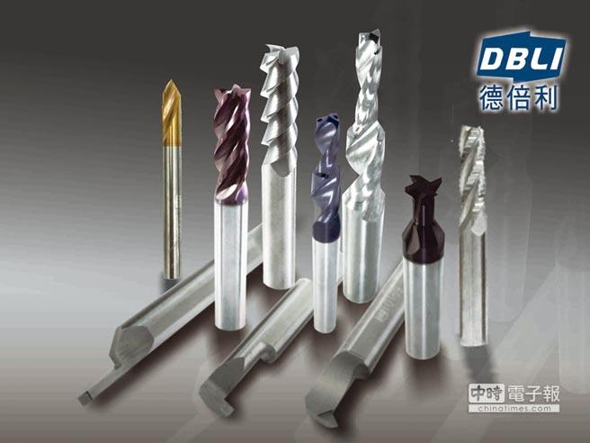 切削刀具界知名新品牌「德倍利DBLI刀具」,穩定性高,贏得機械與汽車加工業的好口碑,也是上市櫃公司指定品牌。圖/王妙琴