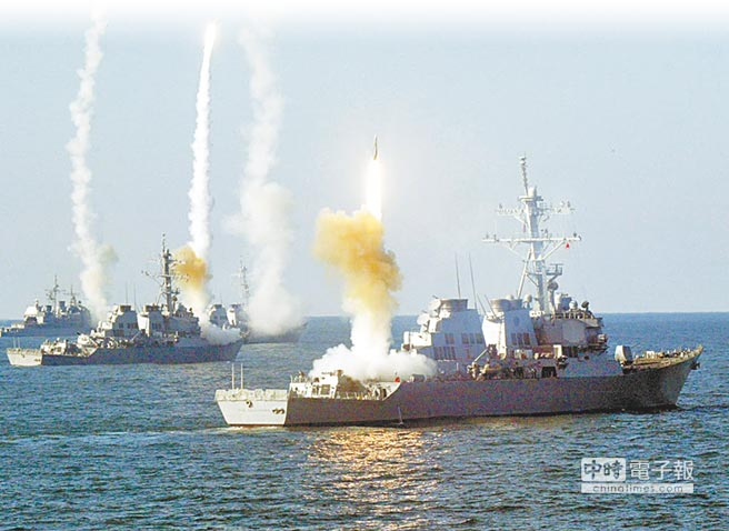 海軍兵力整建計畫將打造台灣版的神盾級軍艦,性能大約等於美軍勃克級。(摘自美國海軍網站)