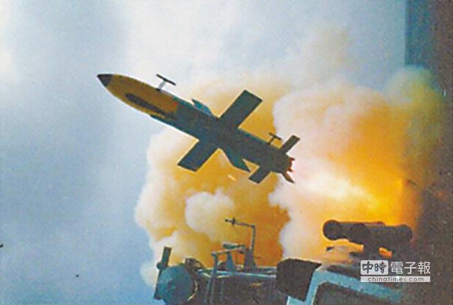 雄風一型飛彈為中科院首次自力研發完成之艦對艦飛彈武器系統。(摘自國防部官網)