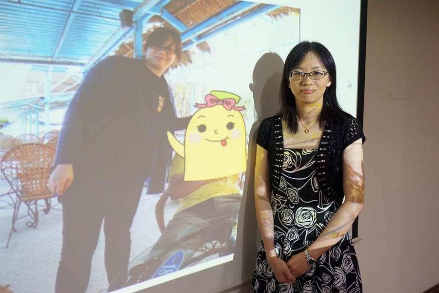 32歲鍾小姐成功甩油,體重從74kg瘦到55kg,向過去大尺碼衣褲說掰掰。(柯宗緯攝)