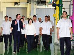 小英來訪 Google盼合作再生能源認購