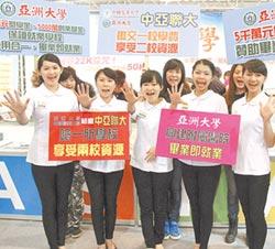 兄弟校中醫大 全台私校第一 亞洲前200名大學 亞大最年輕入榜