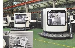 品質、精度 頂尖水準  旭陽不惜斥下巨資向德國DMG購進五軸複合加工機,讓數控分度盤與電腦車床刀塔的品質與精度,能達到頂尖水準。圖/業者提供