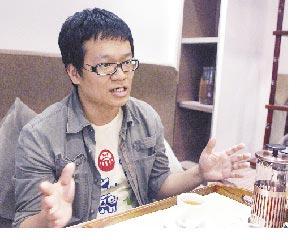 《聯合文學》總編輯王聰威。(本報系資料照片)