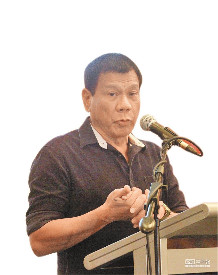 菲國剛選出的新總統杜特蒂即將在仲裁案宣判前的6月30日上任。(中新社)