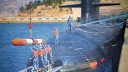 罕見中共093G型潛艦照片曝光