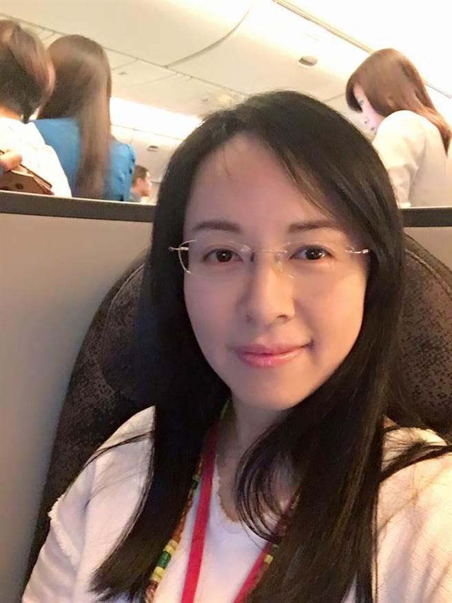 民進黨立委陳瑩。(翻攝陳瑩臉書)