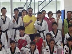 樹林國民運動中心試營運 奧運金牌陳詩欣、朱木炎出席