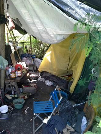 通緝犯躲追捕 河畔紮營2個月還是栽了