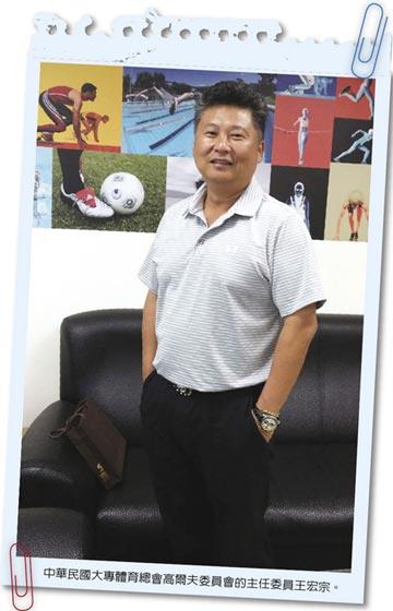 健康有術-中華民國大專體育總會高爾夫委員會主任委員王宏宗 揮桿要訣 大公開