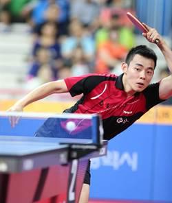 陳建安不敵馬龍 仍摘南韓公開賽銅牌