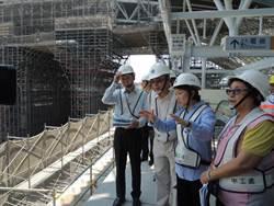 立院財委會考察台中新站  預定9月啟用