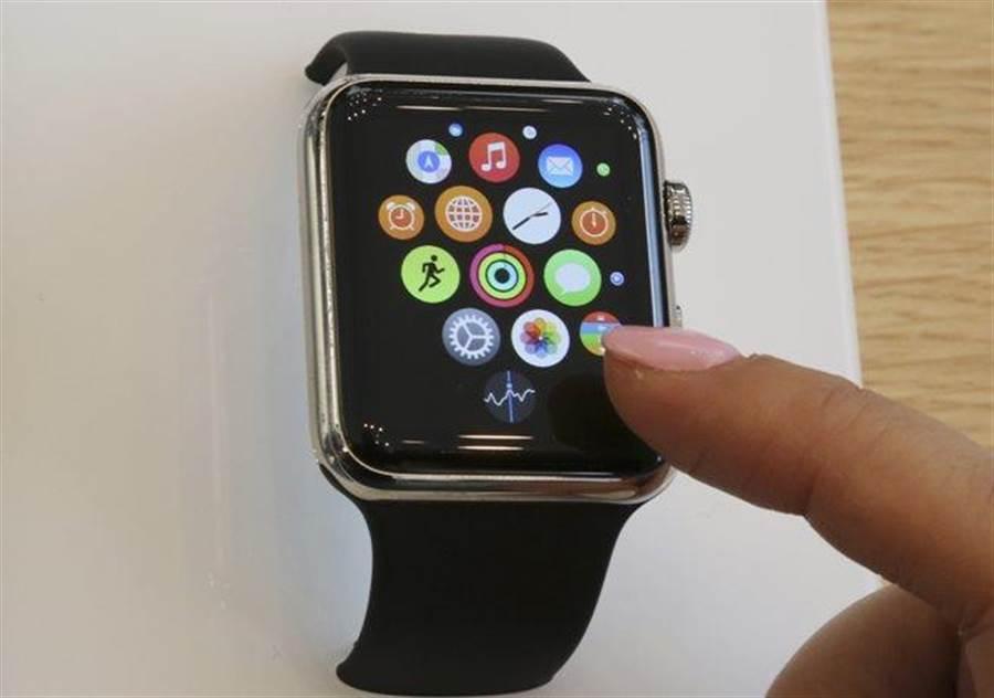 Apple Watch。(美聯社資料照)