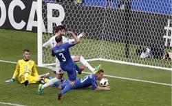 歐國盃》終結22年魔咒 義大利2-0西班牙