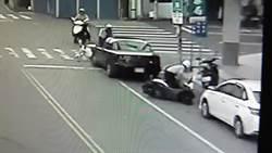 女警負傷借車追贓 民眾讚賞有同袍愛