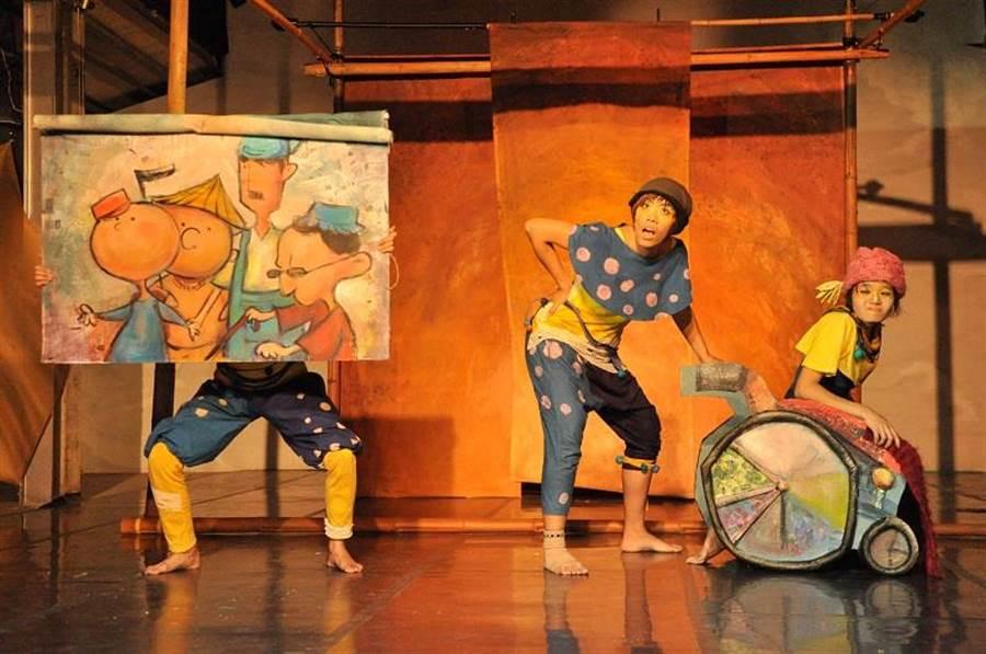 身聲劇場演出《摘星星的人》,營造出溫暖浪漫的氛圍。(圖/臺北兒童藝術節提供)
