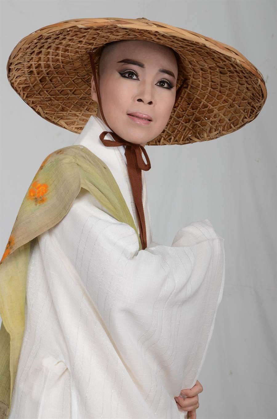 尚和歌仔戲團《情定化城寺》將由梁越玲飾演地藏王菩薩一角。(尚和歌仔戲團提供)