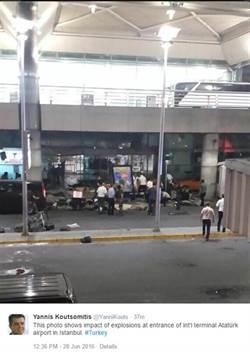 【更新】土耳其機場遭恐攻 連環爆畫面曝光