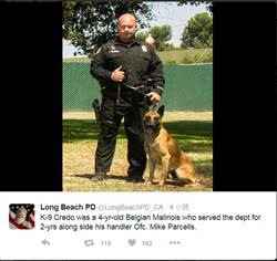 加州警開槍擊斃要犯  警犬殉職