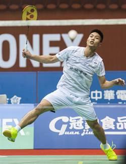 台北羽球賽》周天成直落二 快拍晉級8強