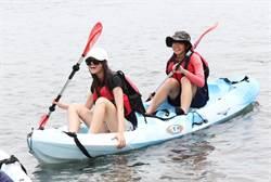 日本學生訪蘇澳體驗獨木舟 讚台灣海洋教育