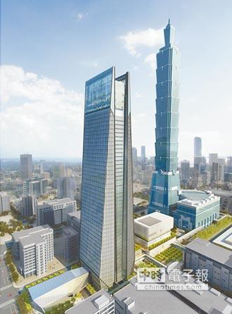 造型若「祈福」 具5大特色 臺北南山廣場 將成新地標