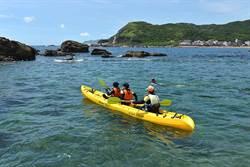 盛夏戲水 龍洞浮潛獨木舟超好玩
