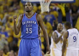 NBA》杜蘭特友人爆料:他90%會留雷霆