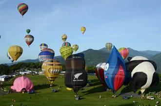 破紀錄!28顆球同時升空 熱氣球嘉年華鹿野開幕