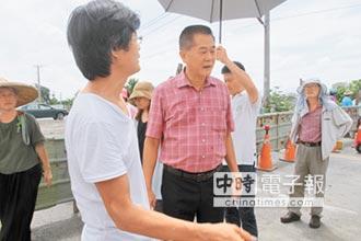 濁幹線增暗管 解決東仁國中旁淹水