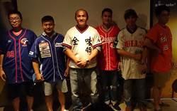 張泰山快樂打球  卻被台灣球迷惹哭