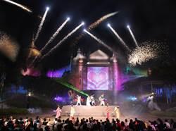 六福村遊樂園煙火秀開幕 暑假周末均施放