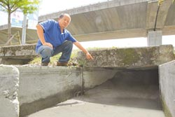 水利會推責高公局 國道橫越溝淤積 五結逢雨就淹