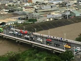 台中山區大雨溪水暴漲 傳3童被沖走