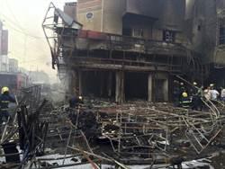 CNN:伊拉克首都巴格達兩起汽車爆炸 至少83死 138傷