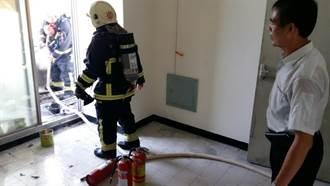 嘉年華影城大樓起火 不排除與天氣燥熱有關