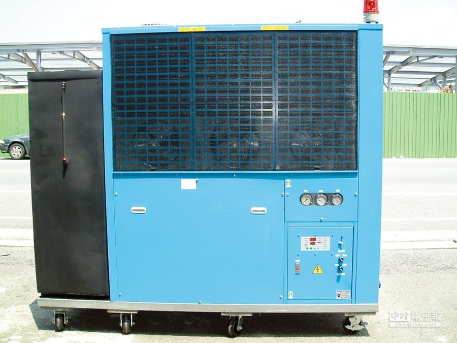 得云出品的冷却系统设备,广泛应用于各种机械工业领域。图/陈至雄