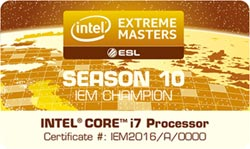 捷元電競電腦宙斯機 獲英特爾IEM認證