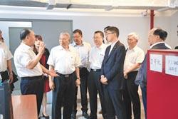 蔡衍明會見新華社社長蔡名照「兩岸媒體應扮演積極溝通角色」