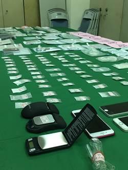 南投警方掃毒 查獲滑鼠、手機形電子磅秤