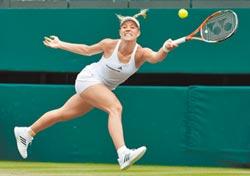 可貝兒闖溫網準決賽 對決大威