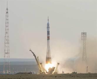 升空成功 美日俄太空人前往國際太空站