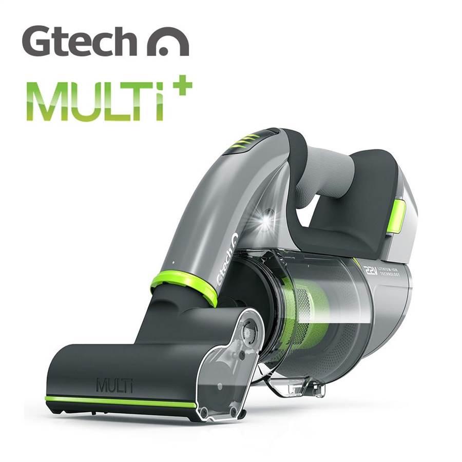 匯聚科技郭永福說,英國Gtech Multi Plus小綠無線除蟎吸塵器,能讓身處室內的民眾享有更健康舒適的環境。圖/業者提供