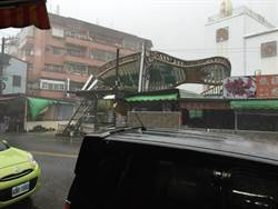 尼伯特颱風中心上午掃過屏東 內埔停電1萬2000戶