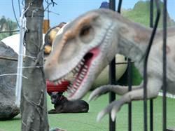 尼伯特吹襲南台灣 恐龍也遭殃