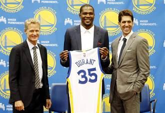 NBA》勇士助教有信心提升杜蘭特防守能力