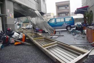 【台東】超商玻璃碎滿地 現場宛如爆炸事故